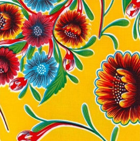 Mexicaans tafelzeil Floral